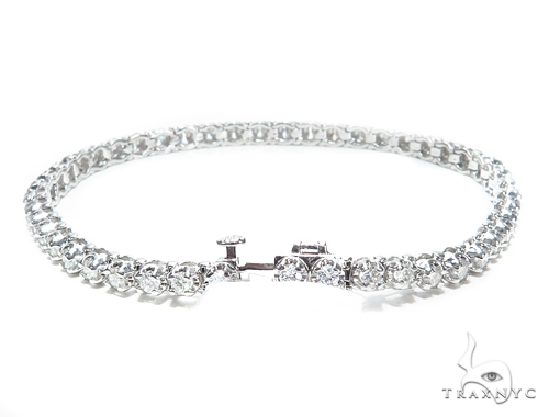 Prong Tennis Diamond Bracelet 42631 Tennis