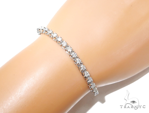 Prong Tennis Diamond Bracelet 42631 Tennis