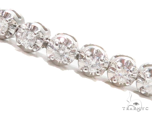 Prong Tennis Diamond Bracelet 43263 Tennis