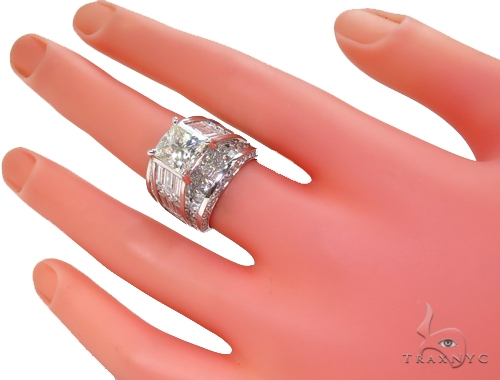 Queen Anne Diamond Ring 40360 Engagement