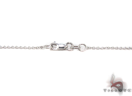 Ribbon Necklace 1 Diamond