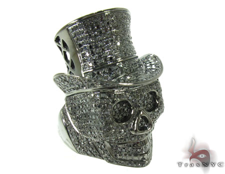 Diamond Skull Rings