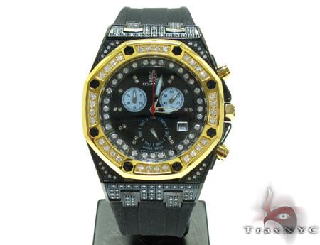 Richard & Co Yellow Steel & Diamond Watch RC-3018 Richard & Co