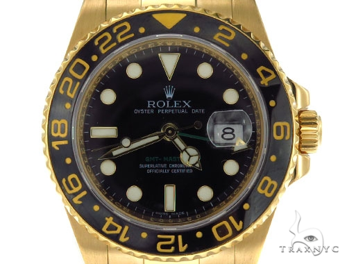 Rolex GMT-Master II Gold 116718 Diamond Rolex Watch Collection
