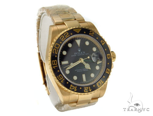 Rolex GMT-Master II Gold 116718 Diamond Rolex Watch Collection