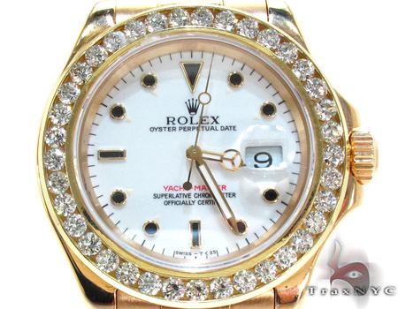 Rolex Yacht-Master Yellow Gold 16628 Diamond Rolex Watch Collection