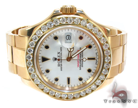 Rolex Yacht-Master Yellow Gold 16628 Diamond Rolex Watch Collection