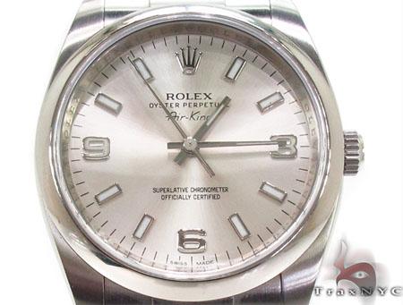 Rolex Air-King Steel Watch 114200 Diamond Rolex Watch Collection