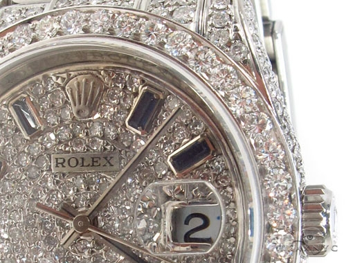 Rolex Datejust II Steel Diamond Watch Diamond Rolex Watch Collection