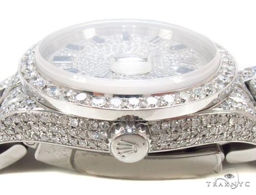 Rolex Datejust II Steel Diamond Watch Diamond Rolex Watch Collection