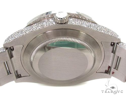 Rolex Datejust II Steel Fully Diamond Watch Diamond Rolex Watch Collection