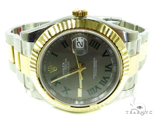 Rolex Datejust II Steel and Yellow Gold 116333 Diamond Rolex Watch Collection