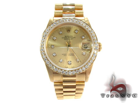 Rolex Datejust President Yellow Gold 178278 Diamond Rolex Watch Collection