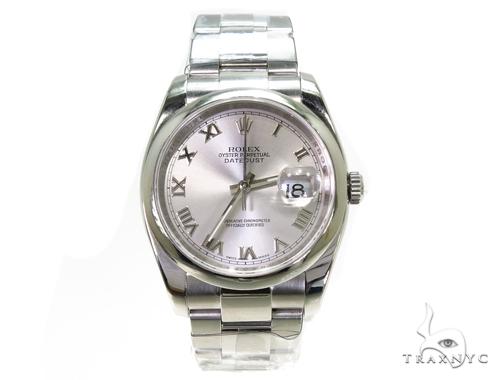 Rolex Datejust Steel 116200 Diamond Rolex Watch Collection