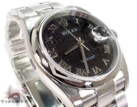 Rolex Datejust Steel 116200 BKJRO Diamond Rolex Watch Collection