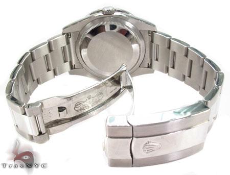 Diamond Rolex Datejust Steel 116200 BKJRO Diamond Rolex Watch Collection