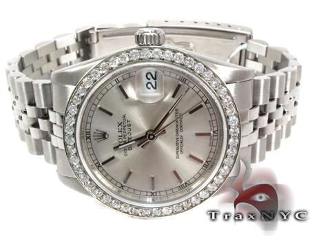 Rolex Datejust Steel 178384 Diamond Rolex Watch Collection