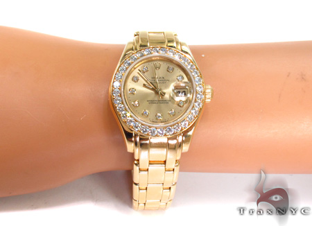 Rolex Pearlmaster Yellow Gold 80298 Rolex Collection