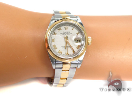Rolex Datejust Yellow Gold and Steel 79163 Rolex Collection