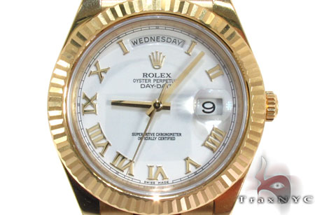 Rolex Day-Date II Yellow Gold 218238 Diamond Rolex Watch Collection