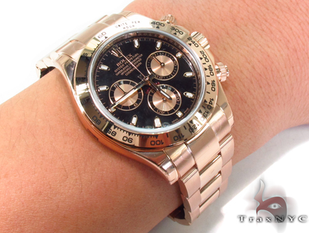 Rolex Daytona Rose Gold 116505 Diamond Rolex Watch Collection