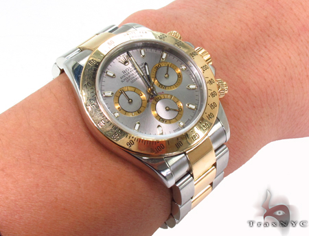Rolex Daytona Steel 116520 Diamond Rolex Watch Collection