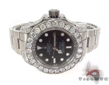 Rolex Deepsea Sea-Dweller Steel 116660 Diamond Rolex Watch Collection