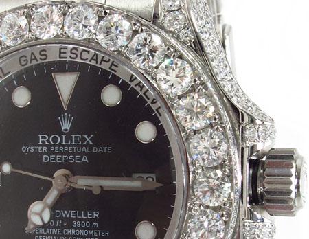 Rolex Deepsea Sea-Dweller Steel 116660 Diamond Rolex Watch Collection