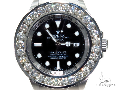 Rolex Deepsea Steel 116660 45214 Diamond Rolex Watch Collection