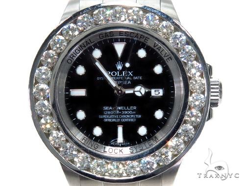 Rolex Deepsea Steel 116660 45214 Diamond Rolex Watch Collection