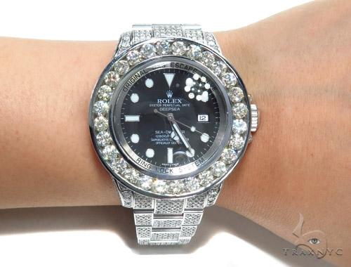 Rolex Deepsea Steel 116660 45215 Diamond Rolex Watch Collection