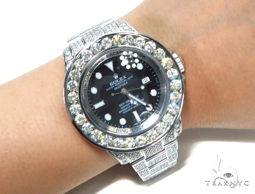 Rolex Deepsea Steel 116660 45215 Diamond Rolex Watch Collection