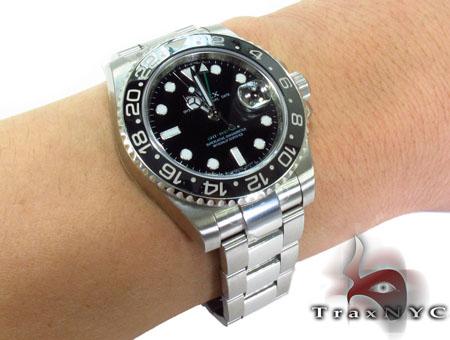 Rolex GMT Master II Steel 116710 Diamond Rolex Watch Collection