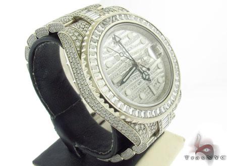 Rolex GMT Master II White Gold 116769TBR Diamond Rolex Watch Collection