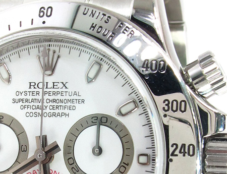 Rolex Daytona Steel Watch 116520 Diamond Rolex Watch Collection