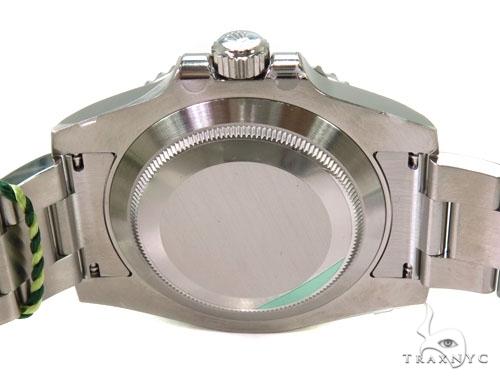 Rolex Submariner Steel 116610 Green Dial Diamond Rolex Watch Collection