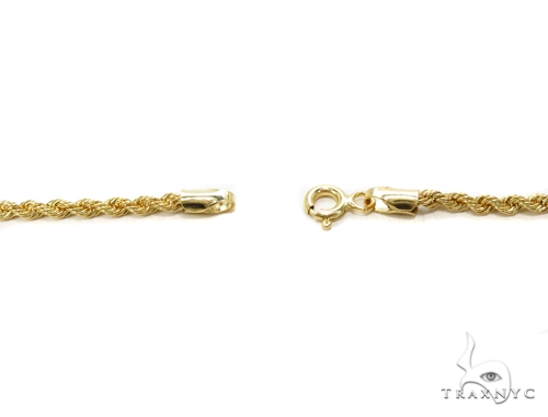 Rope Gold Chain 24 Inches 2mm 3.4 Grams 40353 Gold