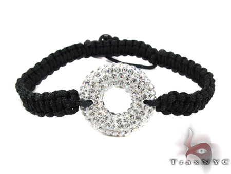 Rope Two Sided Crystal Bracelet ロープ ブレスレット