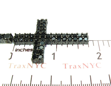 Black Stainless Steel Rosary n 24 Inches, 9mm, 91.4 Grams Stainless Steel