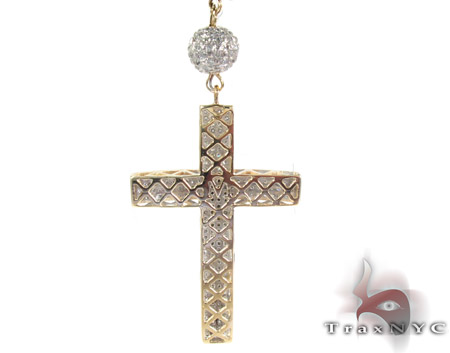 Rosary Diamond Chain 32 Inches, 8mm, 63.5 Grams Rosary