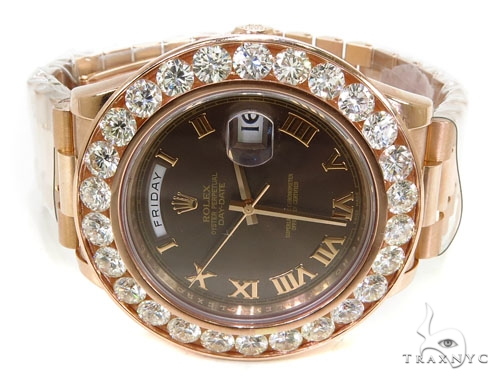 Rose Gold Day-Date Presidential Diamond Rolex Watch Diamond Rolex Watch Collection