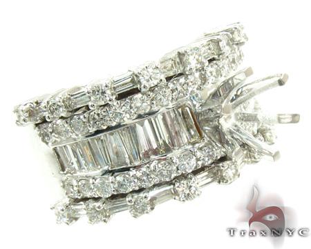 Rose Semi Mount Ring 2 Engagement