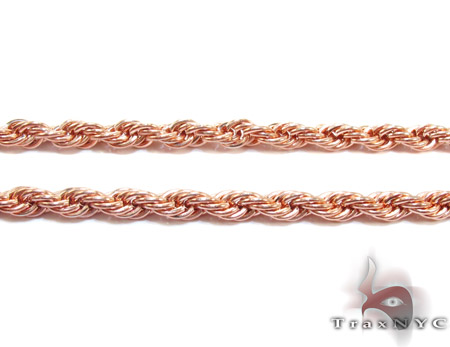 Stainless Steel Rope Chain 24 Inches, 4mm, 23.20 Grams Stainless Steel