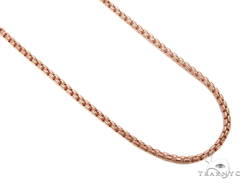 Round Box Gold Chain 16 Inches 2mm 3.8 Grams 40247 Gold