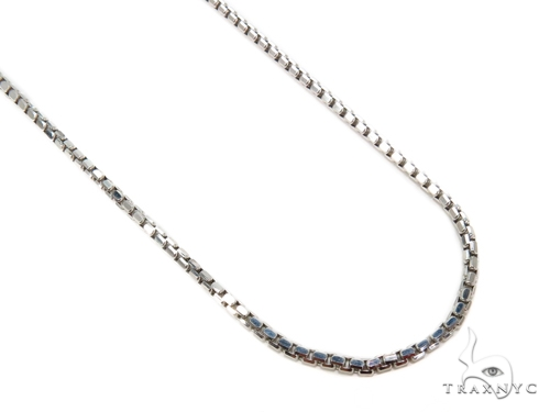 Round Box Gold Chain 16 Inches 3mm 5.6 Grams 40245 Gold