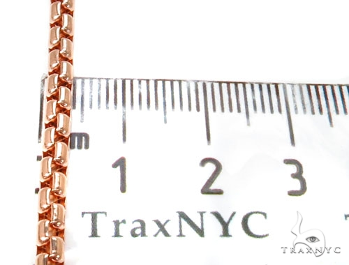 Round Box Gold Chain 16 Inches 4mm 12.5 Grams 40240 Gold