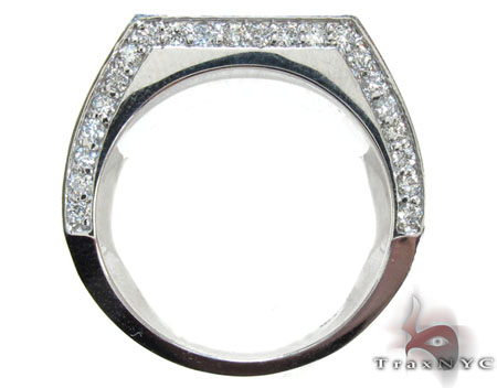 Round Cut Solid Ring Stone
