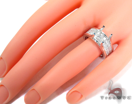 Royal White Semi Mount Ring Engagement
