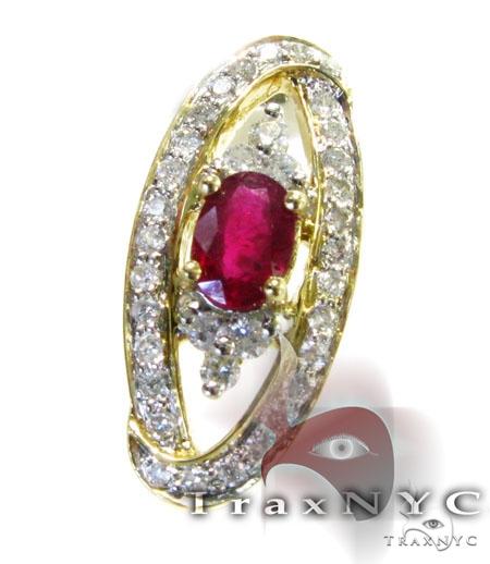 Ruby Pendant Stone