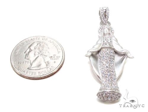 Saint Maria Silver Pendant 36606 Metal